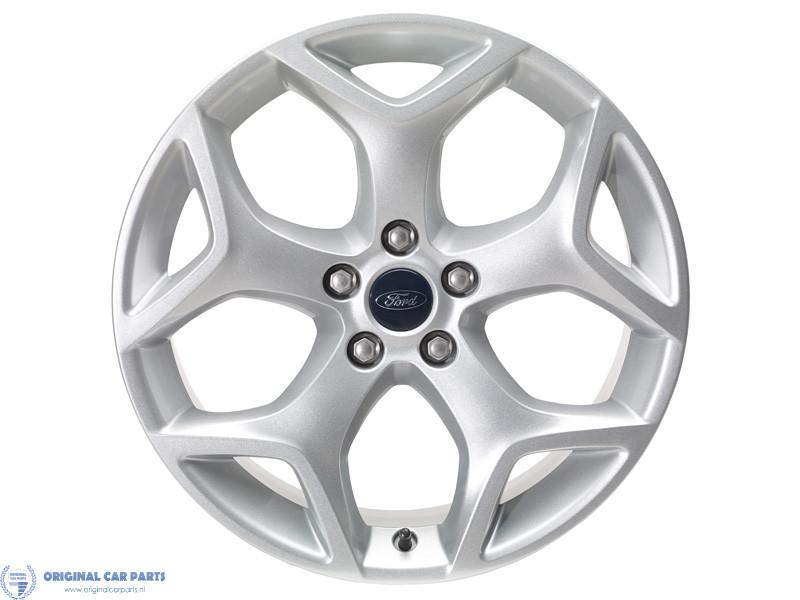 Ford-Focus-ST-lichtmetalen-velg-18inch-Y-5-spaaks-design-zilver-1543345