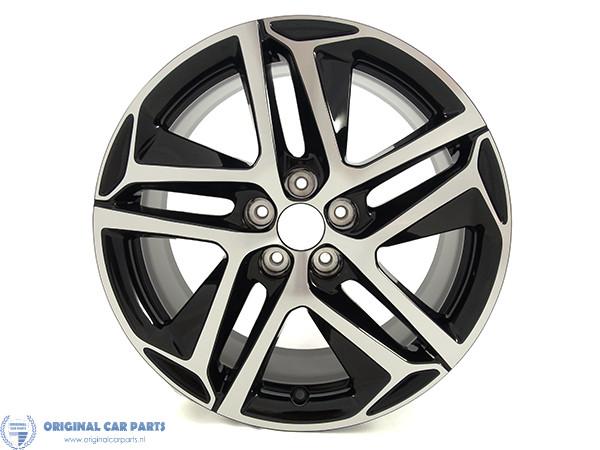 Peugeot Lichtmetalen Velgen Saphir Noir 18 Set Original