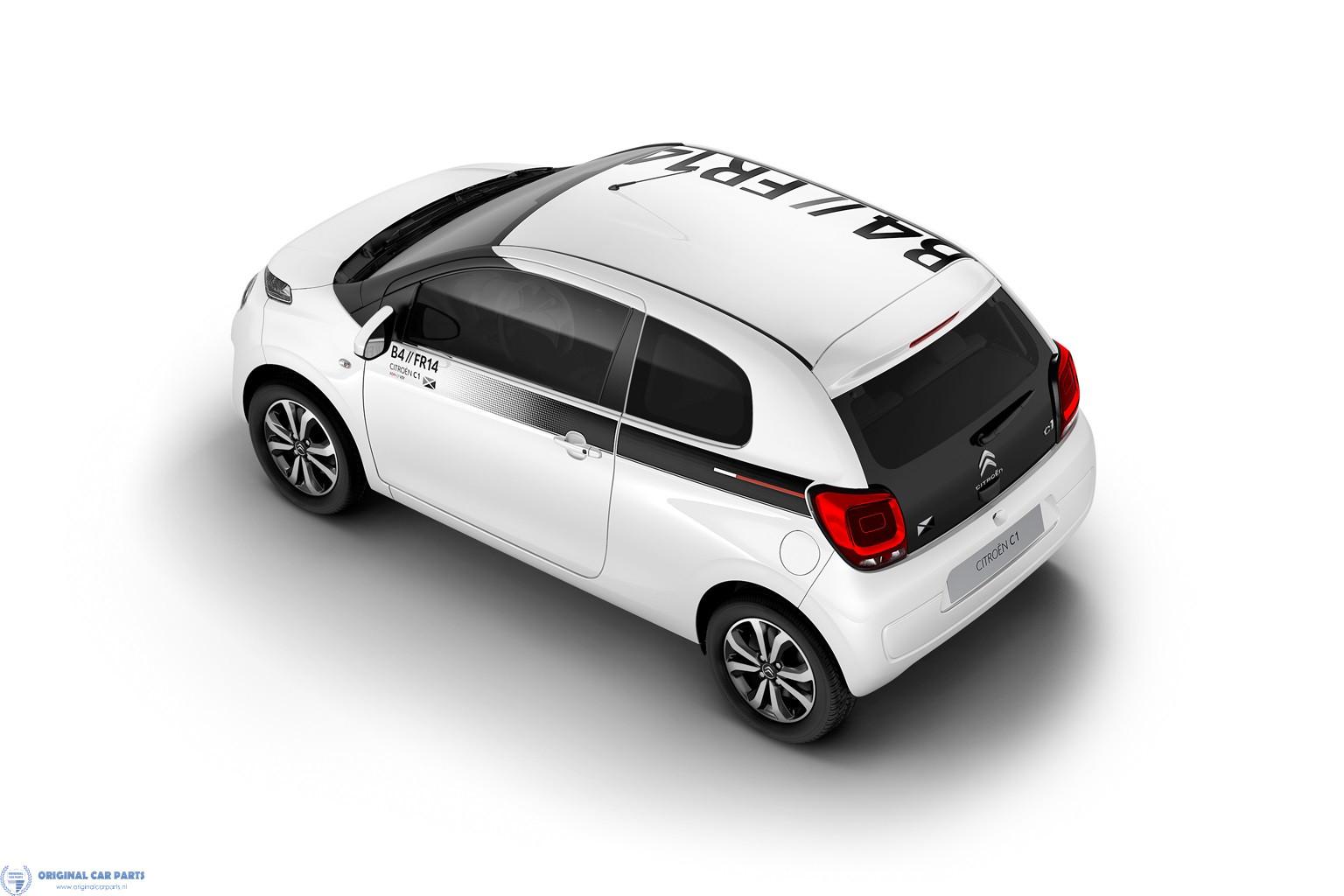 Citroën C1 2014 - .. 5-drs stickerset SPORTY