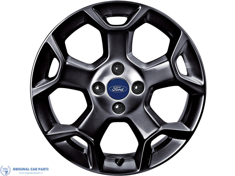 Ford-lichtmetalen-velg-16inch-5-spaaks-Y-design-Panther-Black-1739568
