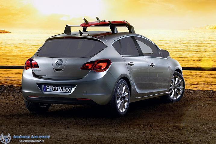 Betere Opel Astra J hatchback dakdragers aluminium - Original Car Parts MI-65