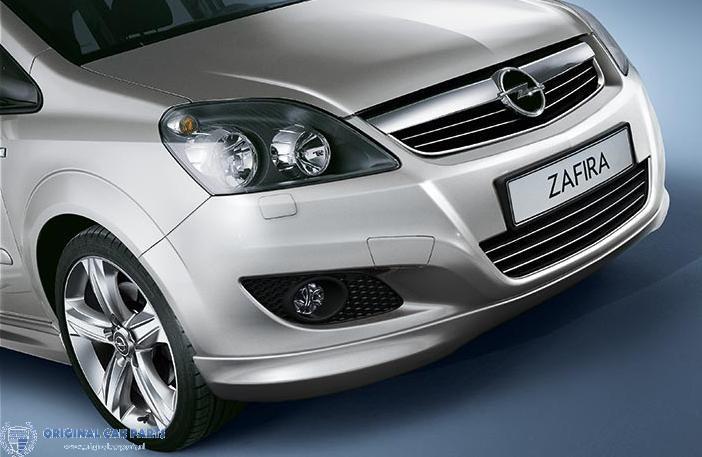 Opel Zafira B OPC-line voorbumperspoiler (09/2008 - 2011)
