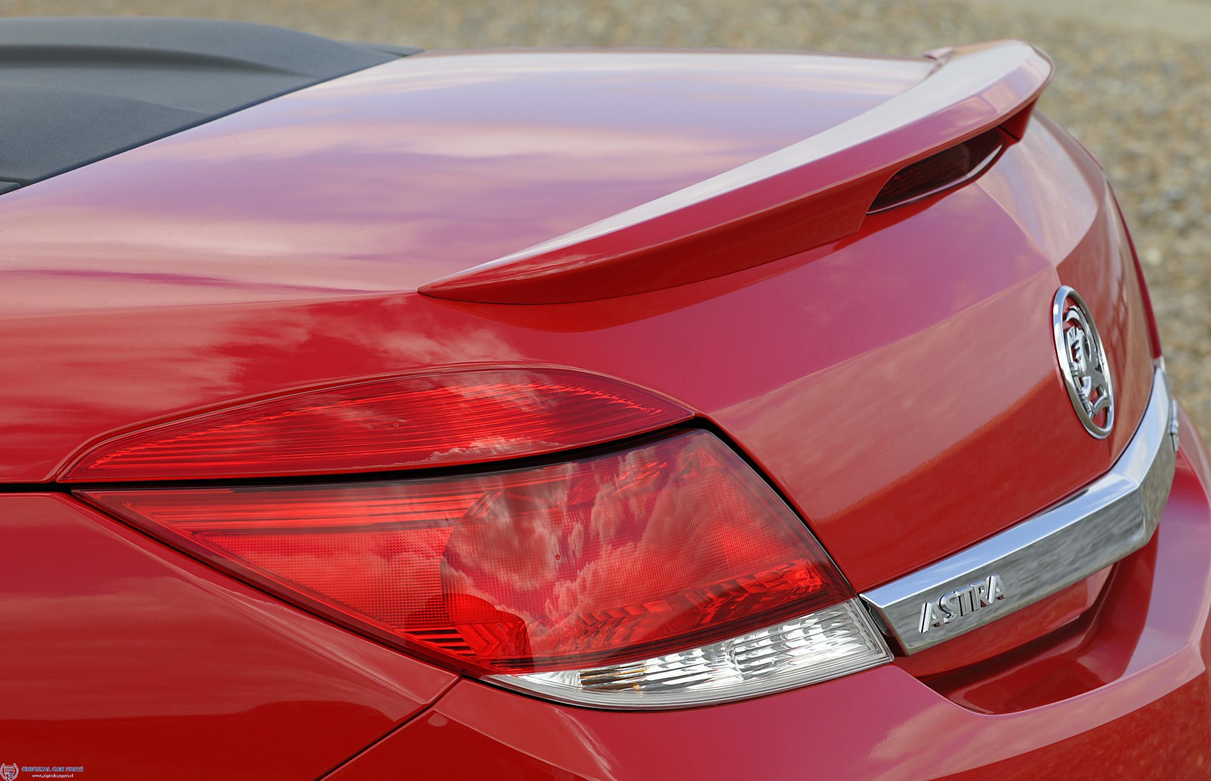 Opel Astra H TwinTop OPC-line achterklepspoiler