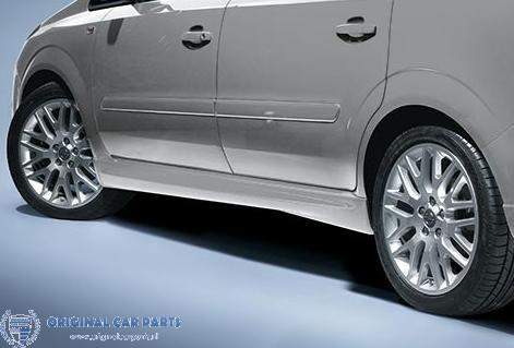 Opel Zafira B OPC-line sideskirts
