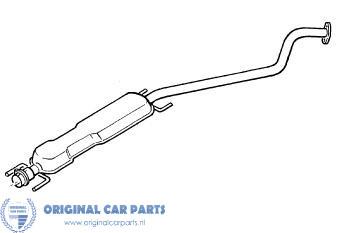 Opel Astra G middendemper