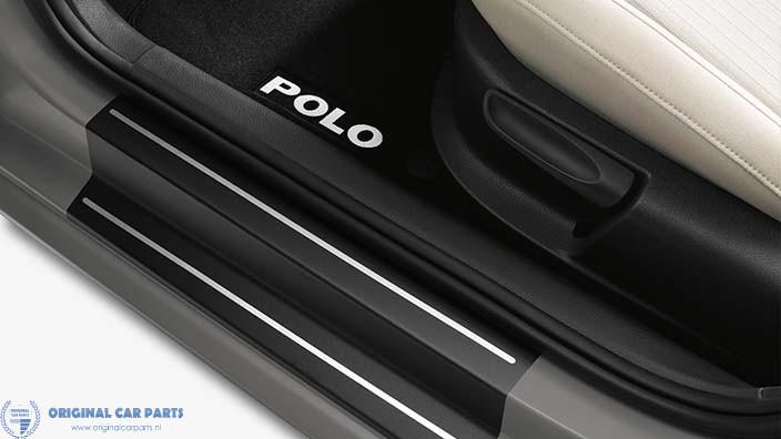 Volkswagen Polo 2009 - .. instaplijsten kunststof (5-drs)