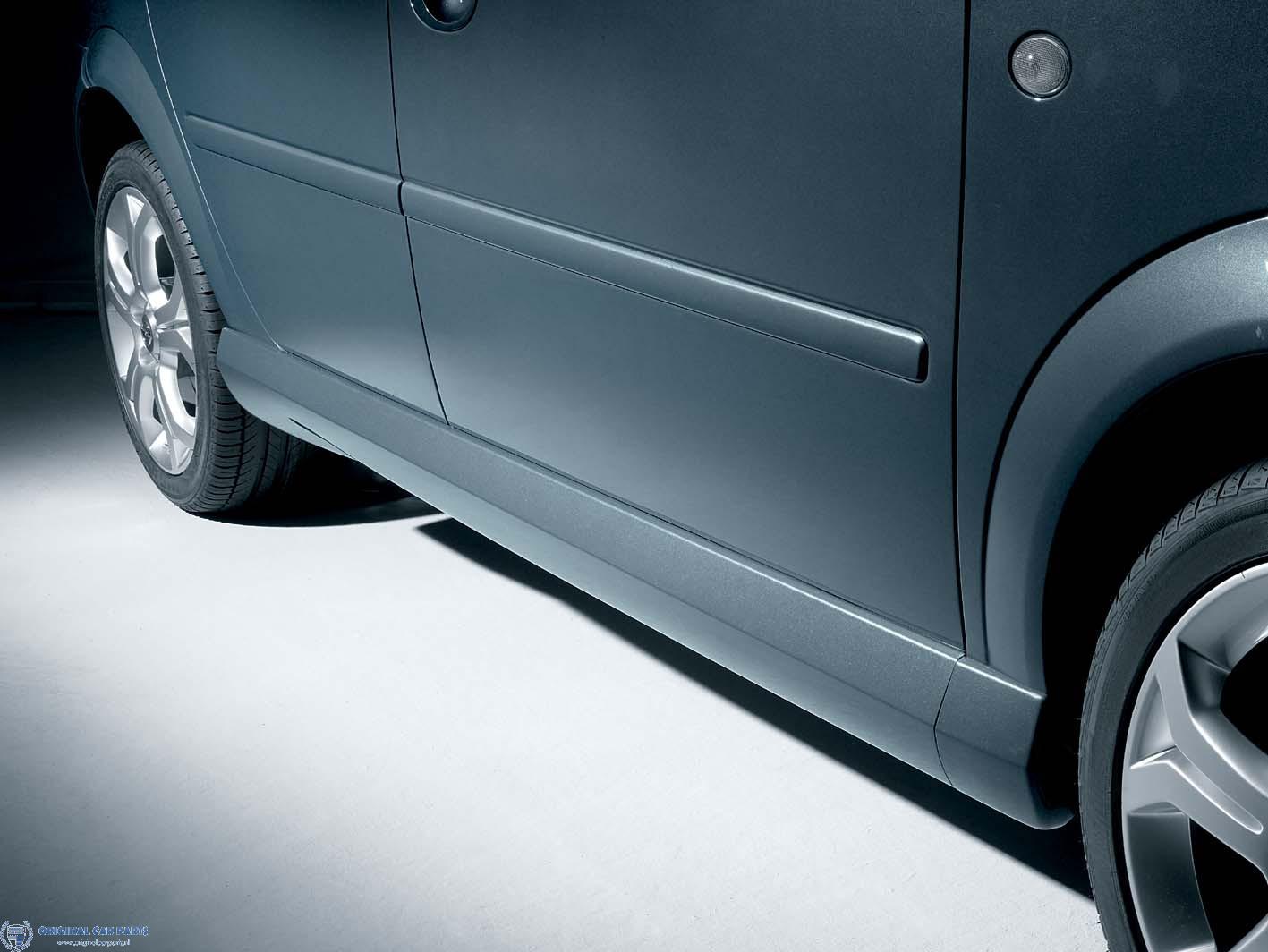 Opel Meriva A OPC-line sideskirts