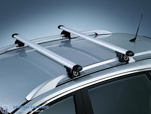 Opel Zafira B dakdragers aluminium (met dakrails) (2007 - 2011) 93199521