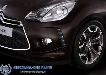 Citroën DS3 Sport chromen sierstrip voor de voorbumper