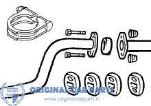 Opel montagepakket middendemper tot bouwjaar 2003