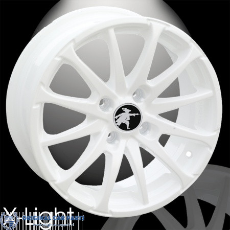 Musketier Citroën C2 Lichtmetalen Velg X Light 7jx17 Wit