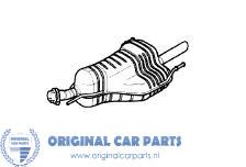 Opel Astra G sedan uitlaat 1.6 tot bouwjaar 2003