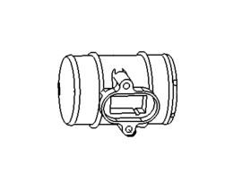 Opel Corsa D / Meriva B luchtmassameter verloopstuk 13307079