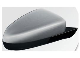 13456293 Opel Corsa D spiegelkappen Summit White