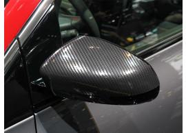 13497987 Opel Corsa E spiegelkappen Carbon Effect