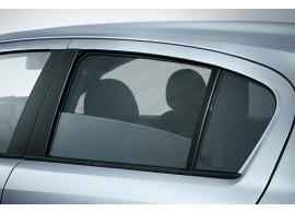 Opel Corsa D 5-drs zonneschermen achterdeuren