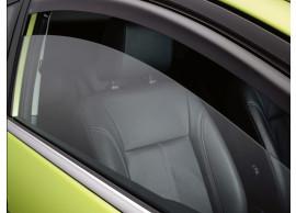 Ford Fiesta 09/2008 - 2017 3-drs windgeleiders voor de voordeuren donkergrijs