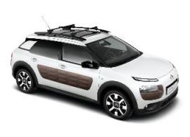 Citroën C4 Cactus dakdragers voor modellen met dakreling 1610033180