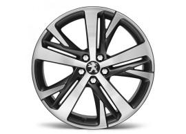 """Peugeot lichtmetalen velgen Technical Grey 19"""" 1610703180"""