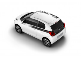 Citroën C1 5-drs stickerset SPORTY