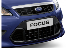 Ford Focus 2008 - 2011 grille lagere luchtrooster in donkergrijs