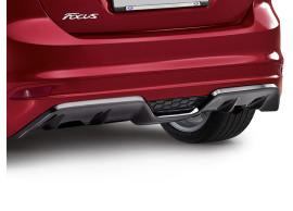 Ford Focus 2011 - .. wagon diffuser met hoogglans zwarte geïntegreerde diffuser
