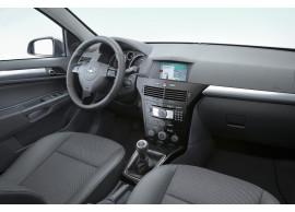 Opel Astra H middenconsole pianolak zwart 4 schakelaars ZONDER start-knop 13250663