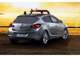 Opel Astra J hatchback dakdragers aluminium