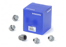 Volvo wielmoerenset (set van vier stuks + sleutel) 31439228