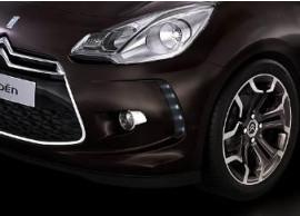 Citroën DS3 chromen sierdelen voor de mistlampen