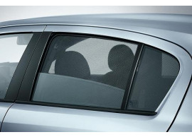 Opel Corsa C zonneschermen achterportieren 5-drs