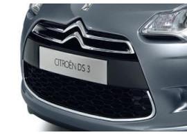 Citroën DS3 chromen sierlijst voor de grille