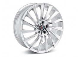 Alfa Romeo Giulietta lichtmetalen velgen 18'' colour diamond-cut opaque white 50903314