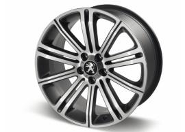 """Peugeot lichtmetalen velg Original 18"""" Dark Grey 5402EE"""