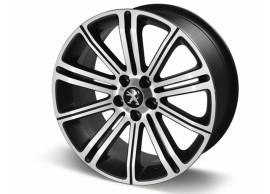 """Peugeot lichtmetalen velg Original 18"""" Full Pyrite Grey 5402ER"""