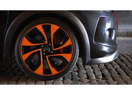 "Citroën DS3R 18"" 4-gaats velg Vortex 5402GG oranje / zwart"