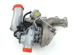 55559850 Opel Z20LEH turbocharger met uitlaatspruitstuk