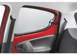 CIT9459E8 Citroën C1 / Peugeot 107 zonneschermen achterportieren