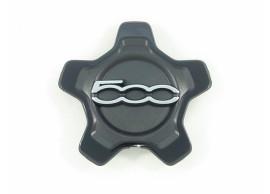 735626311 Fiat 500X naafkappen zwart