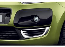 742255 Citroën C3 Picasso chromen sierlijsten in voorbumper
