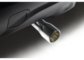 Renault Captur uitlaatsierstuk chroom 8201363334