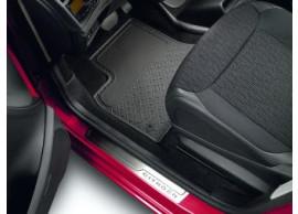 Citroën C4 Grand Picasso 2007 - 2013 vloermatten 3e rij rubber