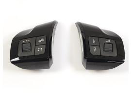 Opel Astra H stuurbediening pianolak zwart 93190342