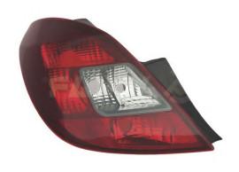 Opel Corsa D 5-drs achterlicht links donker 93196753