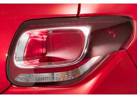 Citroën DS3 chromen inzetstukken voor de achterlichten