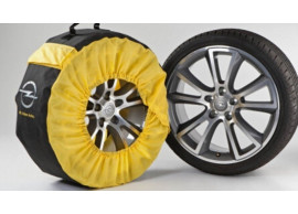 """Opel bandenhoezen voor velgen 14"""" tot 18"""" 95599242"""