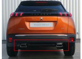 98259670XY Peugeot 2008 (2019 - ..) GT-line diffusor
