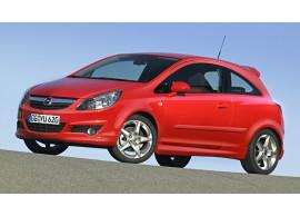 Opel Corsa D 3-drs OPC-line / GSi pakket zonder sportdemper (2006 - 04/2011)