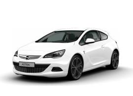 Opel Astra J GTC OPC-line voorbumperspoiler