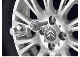 Citro?n C1 / Peugeot 108 slotbouten voor lichtmetalen velgen CIT1606922580
